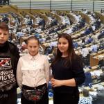 Stara Huta w Parlamencie Europejskim w Brukseli
